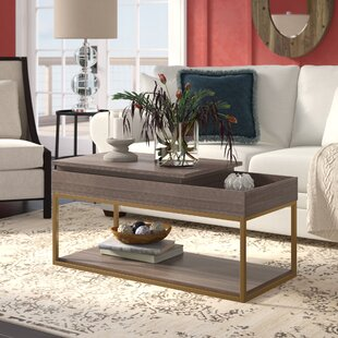 Broadridge Coffee Table with Tray Top and Storage