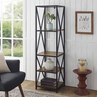 Augustus X-Frame Etagere Bookcase ByTrent Austin Design