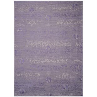 Affordable Port Laguerre Purple Area Rug By Bungalow Rose