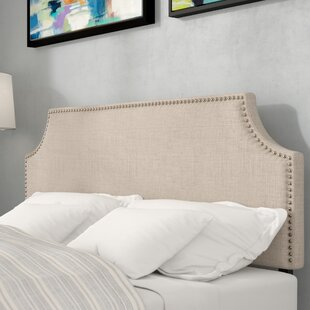 Ebony Solid Wood Upholstered Panel Headboard