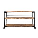 Shaftesbury 60 Solid Wood Console Table by 17 Stories