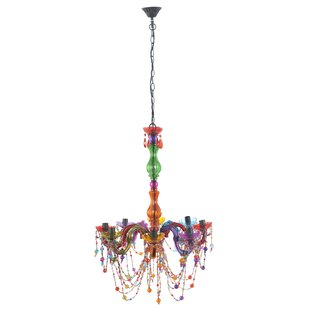 Grantham Whimsical 6-Light Candle Style Chandelier