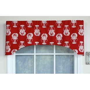 Josiah Lobster Arch 51 Window Valance by Breakwater Bay