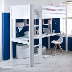 Low Price Booth European Single High Sleeper Bed