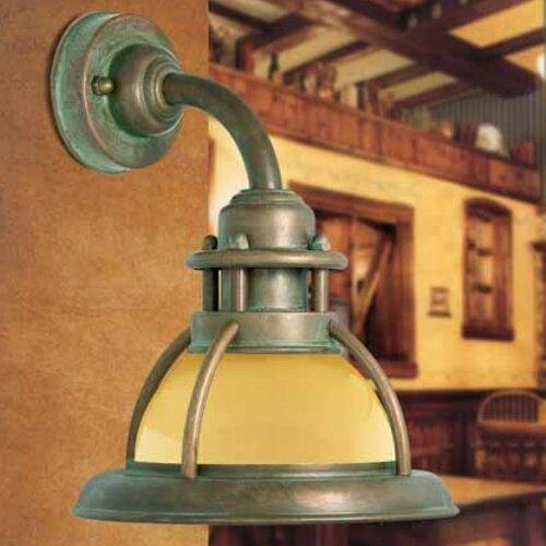 Baia 1 Light Wall Light Moretti Luce Colour: Antique brass,