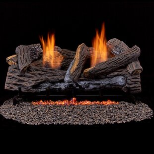 Vent-Free Propane/Natural Gas Logs By Duluth Forge