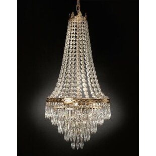 Kincheloe Swarovski Crystal 4-Light Empire Chandelier by House of Hampton
