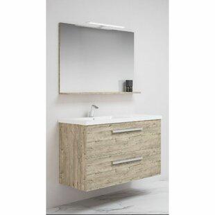 Trevor 1000mm Wall Hung Single Vanity Unit By Belfry Bathroom