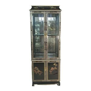 Lighted China Cabinet by Oriental Furniture