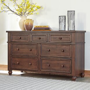 Donalsonville 7 Drawer Double Dresser