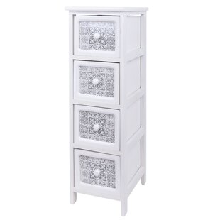 Ainsworth 4 Drawer Chest By World Menagerie