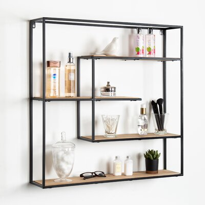 17 Stories Daxton Large Decorative Floating Wall Shelf