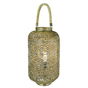 Bungalow Rose Topsfield Wilcoxen Metal Electric 1-Light Outdoor Hanging Lantern
