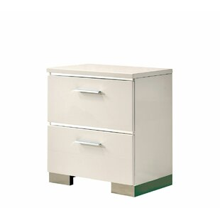 Karole 2 Drawer Nightstand by Orren Ellis