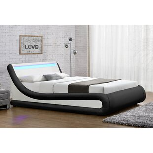 Galaxy LED Upholstered Ottoman Bed By Brayden Studio