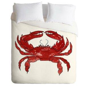 East Urban Home Crab Duvet..