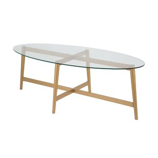 Modern Contemporary Rose Gold Coffee Table Allmodern