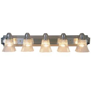 Find Kangley Decorative 5-Light Vanity Light By Charlton Home