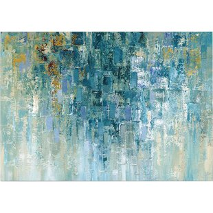 Merveilleux U0027I Love The Rainu0027 Painting Print On Wrapped Canvas