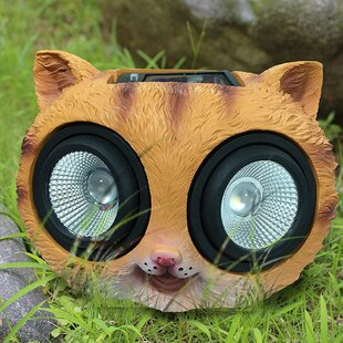 Myfuncorp Cat Solar Color Changing Spot Light
