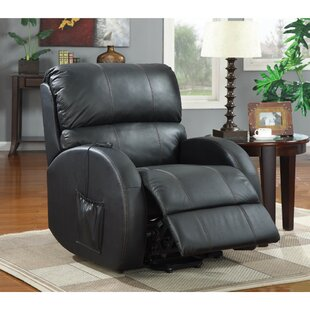 Wilkens Awesome Leatherette Power Recliner