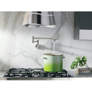 Pot Filler Double Handle Wall Mounted Kitchen Faucet