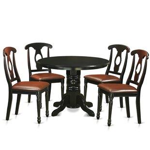 August Grove Sherlock 5 Piece Dining Set
