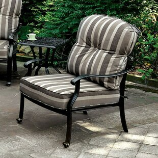 Canora Grey Painter Patio Chair with Cush..