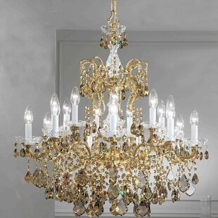 Classic Lighting Madrid Imperial 18-Light Candle Style Chandelier