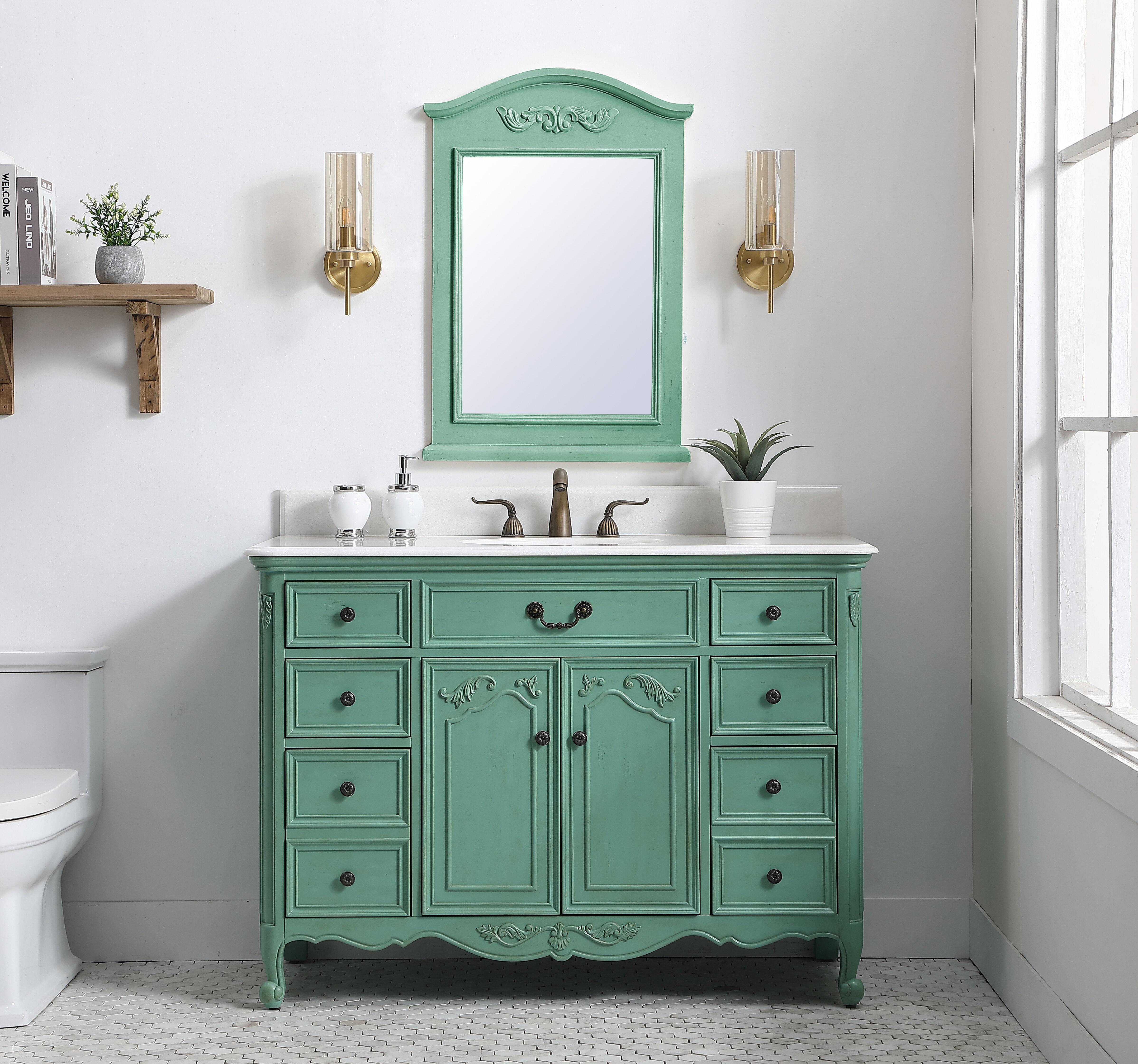 One Allium Way Plumlee 48 Single Bathroom Vanity Set Wayfair