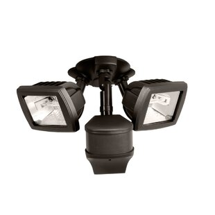 Outdoor Security Flood Light with Motion Sensor by Cooper Lighting LLC