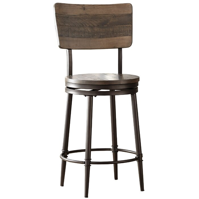 Admirable Cathie 30 Swivel Bar Stool Ibusinesslaw Wood Chair Design Ideas Ibusinesslaworg