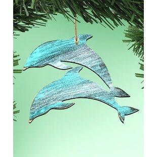 6f58256e14292 2 Dolphin Ornament (Set of 3)