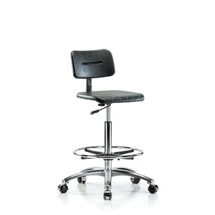 Industrial Mid-Back Drafting Chair by Perch Chairs & Stools New Design