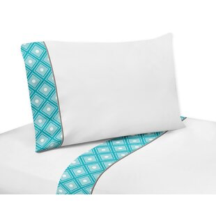 Mod Elephant Cotton Sheet Set BySweet Jojo Designs