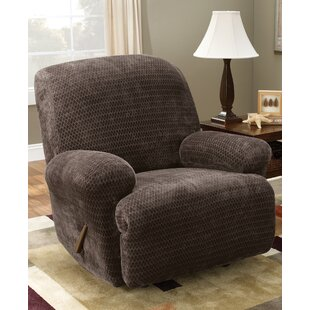 Stretch Royal Diamond Box Cushion Recliner Slipcover