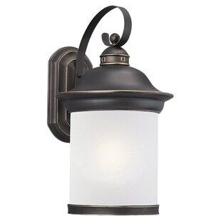 Bloomsbury Market Brettany 1-Light Outdoor Wall Lantern