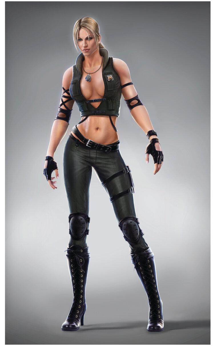 Mortal Kombat Sonya Blade Graphic Art
