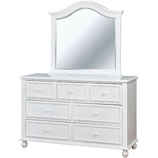 Reinoso 7 Drawer Double Dresser by Harriet Bee
