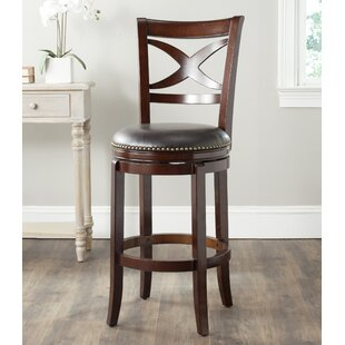 Gallucci 29 Swivel Bar Stool Charlton Home