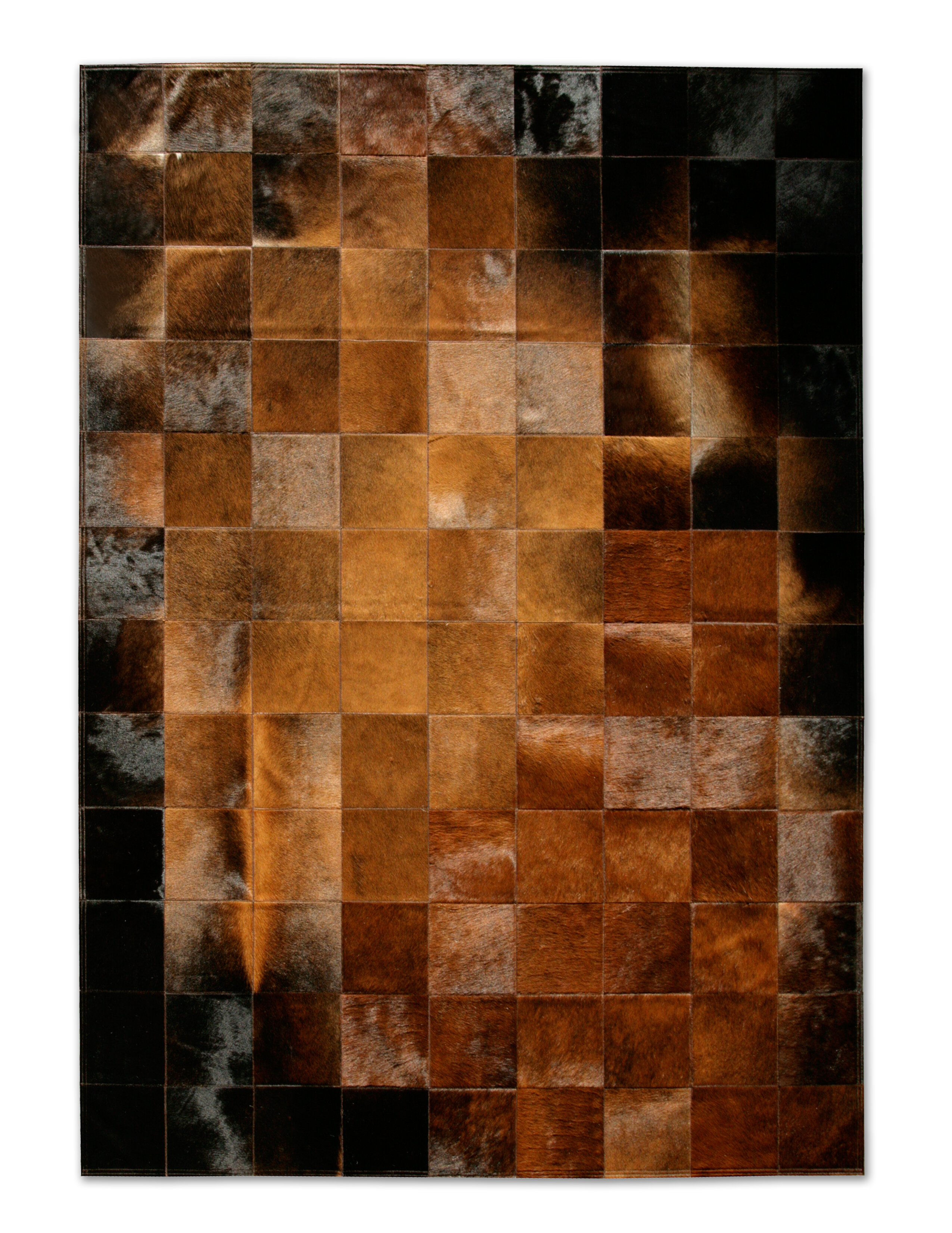 Park Normand Brown Black Area Rug