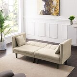 Nocera 73.62'' Round Arm Sofa Bed by Corrigan Studio®