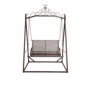 Attractive Metal Garden Swing With Stand