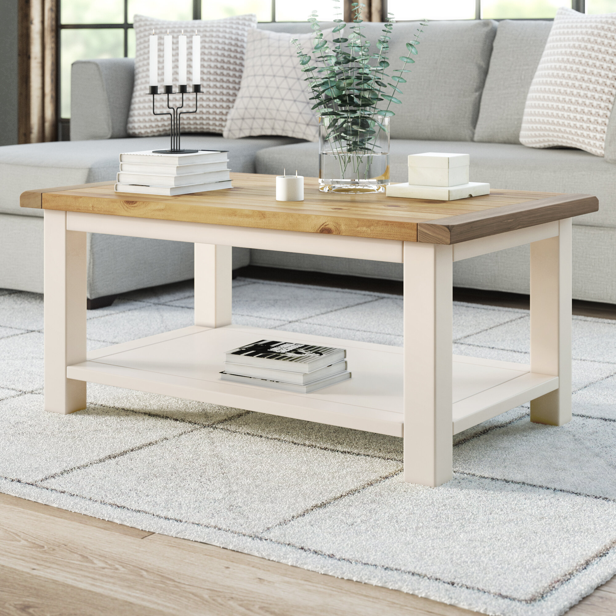 Brambly Cottage Faucher Coffee Table Reviews Wayfair Co Uk
