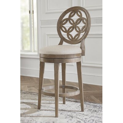 Counter 24 Quot 27 Quot Full Back Swivel Barstools You Ll Love