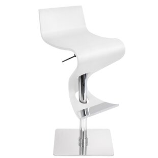 The Adjustable Height Swivel Bar Stool by..