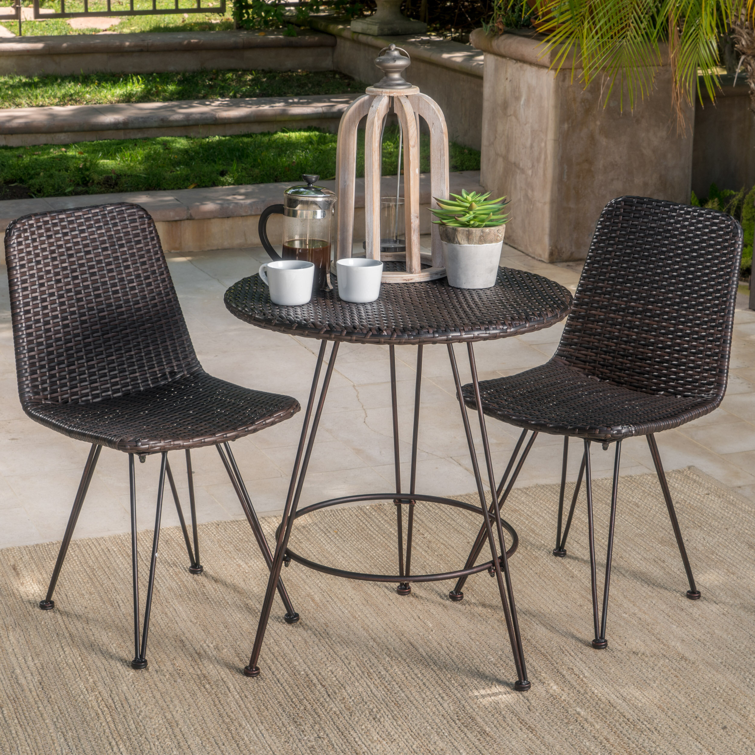 Wrought Studio Prewitt Outdoor Wicker 3