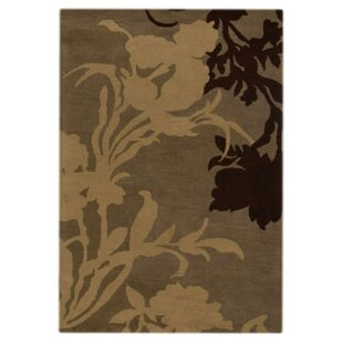 Find Creager Hand-Tufted Wool Grey White Area Rug ByEbern Designs