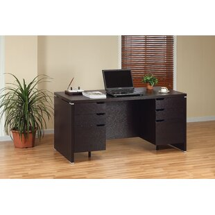 Beeson Solid Wood Computer Desk by Foundry Select