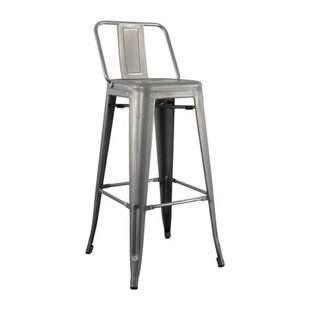 Monk Low Back Bar Stool